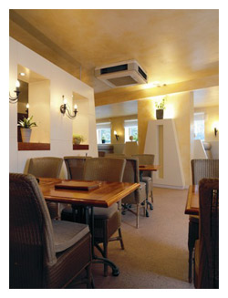 KSL supplied and installed new Daikin air conditioning to a restaurant in London, call our London offices 0203 008 5441 for a no obligation quote.