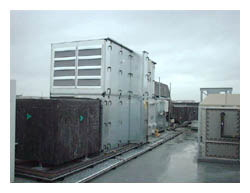 KSL supplied and installed new roof top VAV air conditioning. VAV boxes and associated ductwork to a building in Cambridge, call our London offices 0203 008 5441.